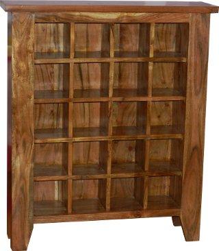 cd dvd b cherregal raumteiler massivholz arbeitszimmer. Black Bedroom Furniture Sets. Home Design Ideas